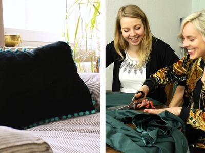 Nähen für Dummies #3 Kissenbezug | DIY | Jelena