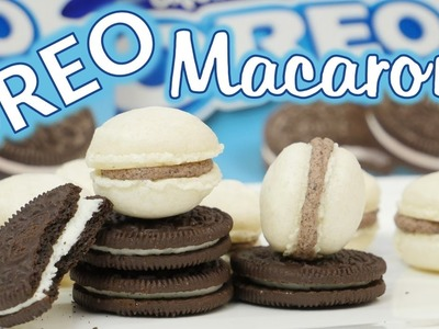 OREO Macarons backen. How to make Oreo Macarons
