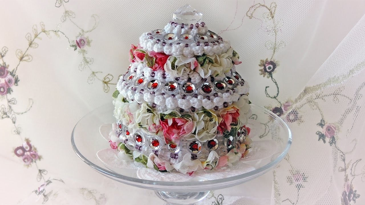 Röschen Törtchen Häkeln Rose Tartlet Crochet