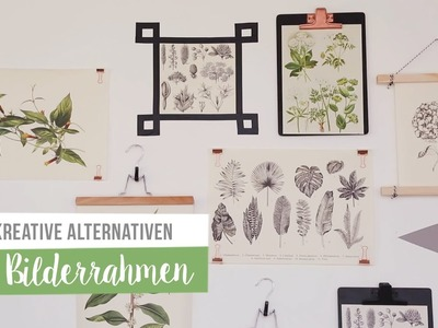 5 Alternativen zu Bilderrahmen | WESTWING DIY-Tipps