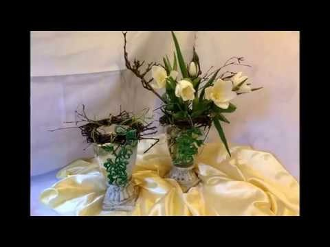 diy blumen werkstatt edle tisch deko im set selber machen how to upsycling. Black Bedroom Furniture Sets. Home Design Ideas