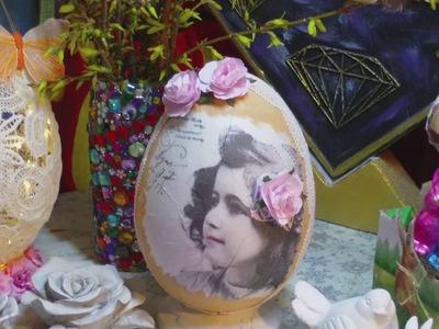 DIY - Ostereier im Vintage Style ganz einfach gestalten