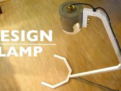 DIY Vintage Lamp. Cement Lampe - Anleitung - ( Teil 2. )