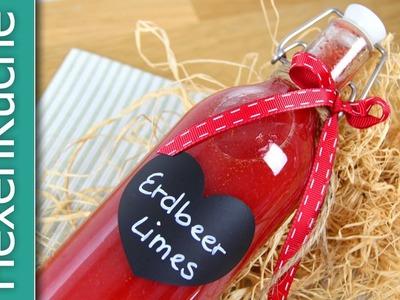 Erdbeerlimes Rezept ThermomixTM5 DIY schnell & einfach
