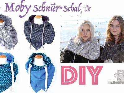 Freebie Moby SCHNÜR*Schal Nähanleitung mit Schnittmuster DIY