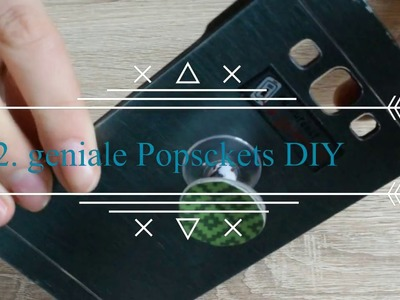 Günstiges Popsocket DIY. Deutsch. Patty`s Welt