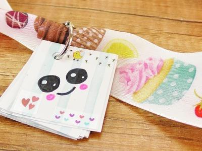 Kawaii DIY deutsch | MINI NOTIZBUCH für süße Botschaften | Miniatur Diary zum Mitnehmen