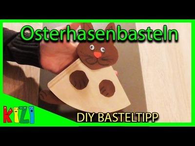 OSTERHASE BASTELIDEE ???? DIY mit Papier - Einfach, Schnell & Günstig ????