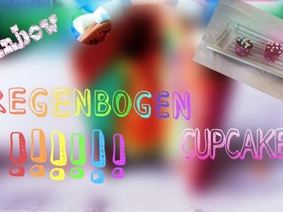 RAINBOW Cupcake | EINHORN Muffins | + Marshmallow | How to bake | Lillilou
