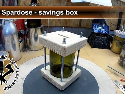 Spardose selber bauen - DIY savings box - Sascha LB