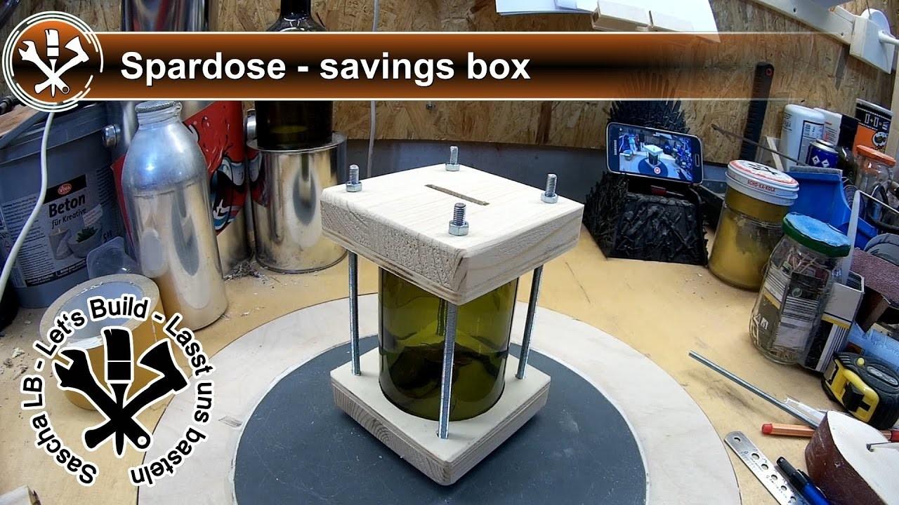 box spardose selber bauen diy savings box sascha lb spardose selber bauen diy savings box. Black Bedroom Furniture Sets. Home Design Ideas