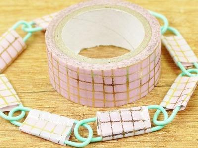 Washitape Armband ganz einfach selber machen | Tolle DIY Idee für Kinder | Klebeband