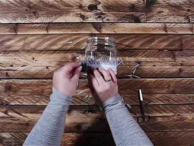 DIY Anleitung Windlicht Hasen im Glas zu Ostern I FrauSchweizer