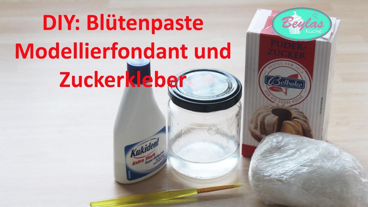 DIY : Blütenpaste, Modellierfondant und Zuckerkleber - Grundlagen II Herstellung von Fondanttorten