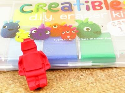 LEGO Radiergummi selber machen | DIY Idee | Geschenk für Lego Fans | Schule