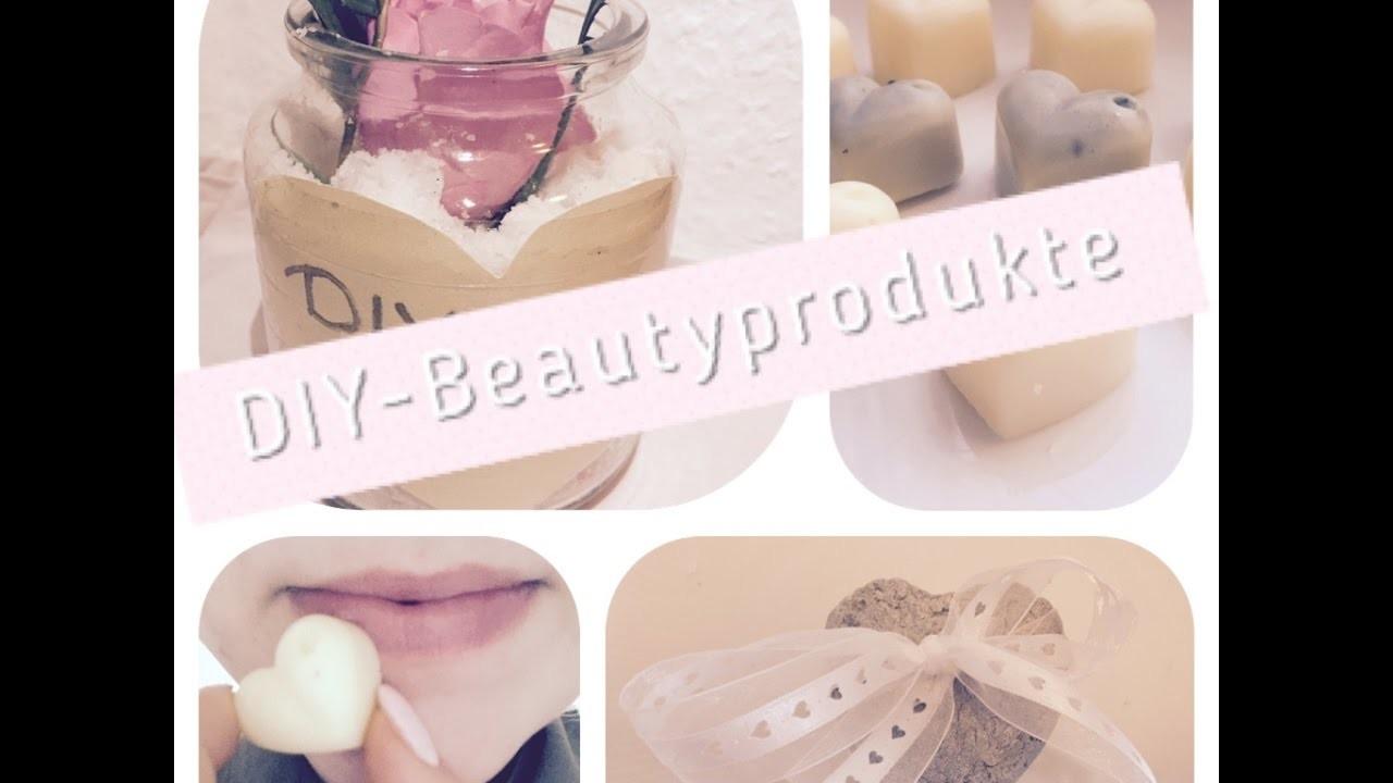 Pinterest DIY- Beautyprodukte - Seife-feste Handcreme-Scrub