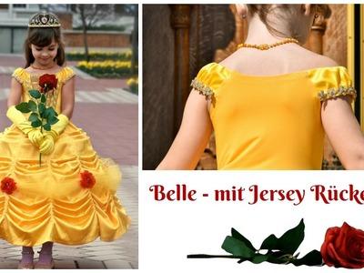 Belle DIY -  Prinzessinen Kleid selber nähen- mit Bahnenrock