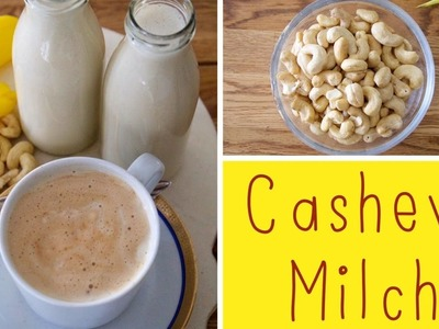 Cashewmilch-DIY. Homemade. LadyLandrand