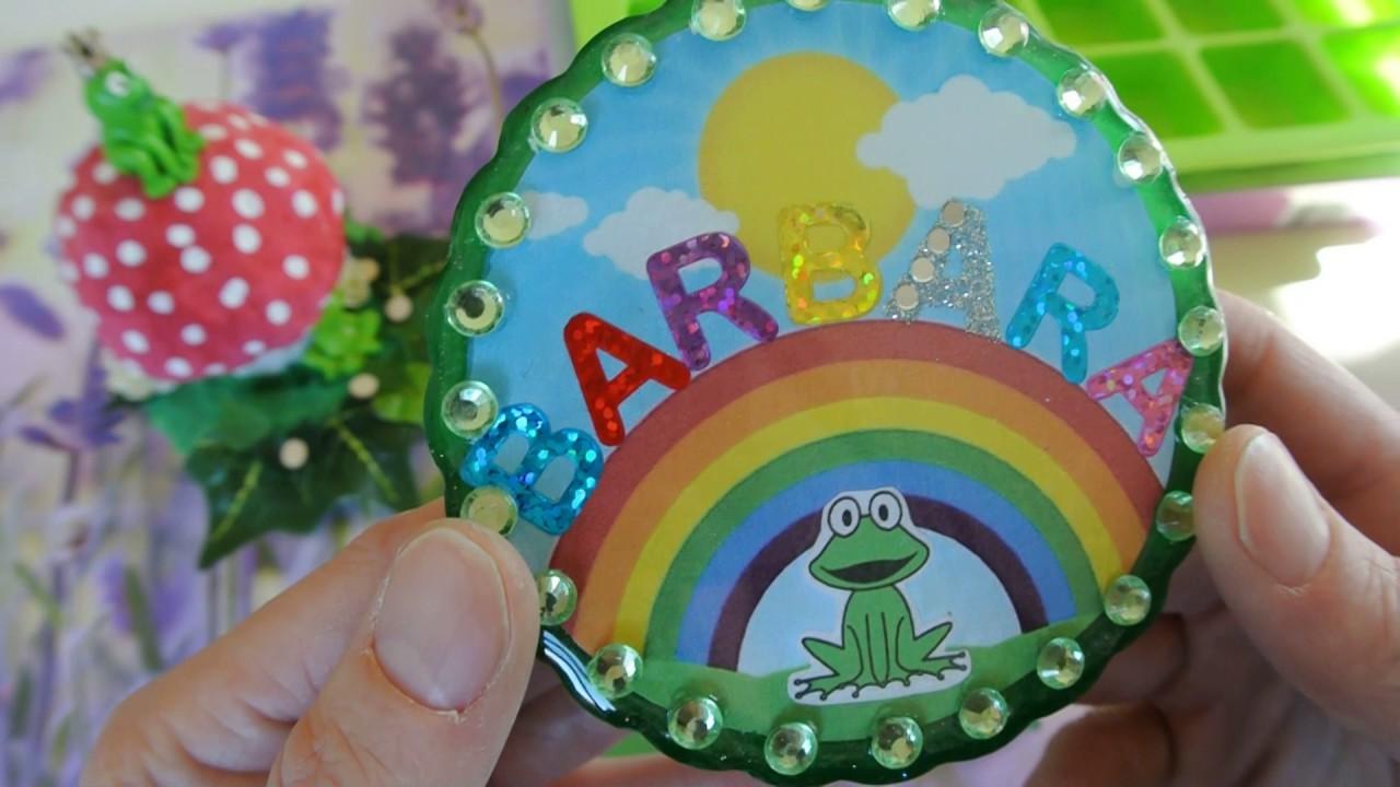 Craft Update Gb und Resin Teil für die liebe Barbara ( Regenbogen - Frosch 0303 )