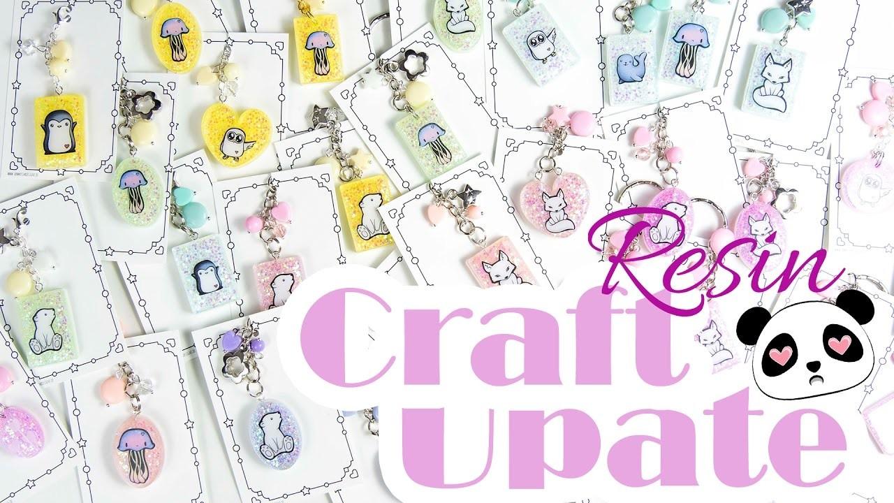 [Craft Update] Resin Charms :) ♥ Abenteuer Arktis ♥ | DEUTSCH | Sammyfim