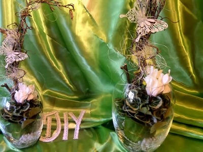 DIY: Blumen Werkstatt wundervolle Blumen-Deko günstig + Upsycling SELBER MACHEN- How to für 4,50€