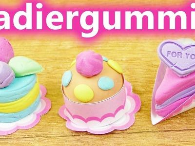 DIY Kawaii Radiergummi Set | Süße Kuchen & Torten zum selber machen | Geschenk Idee