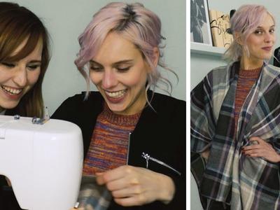 Nähen für Dummies: Poncho | DIY | Jelena
