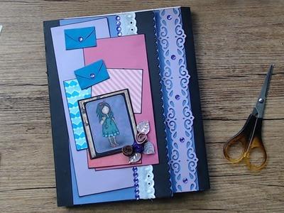 +++Watch me Craft+++Ich baue ein Photo Folio aus Versandtaschen und Briefumschlägen #3+++Fertigstell