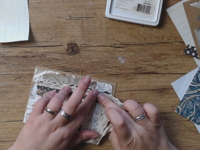 +++ Watch me Craft+++ Vintage Geburtstagskarte für Oma +++