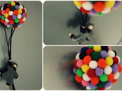 Luftballon Wichtel Magnet * DIY * Balloon Gnome Magnet