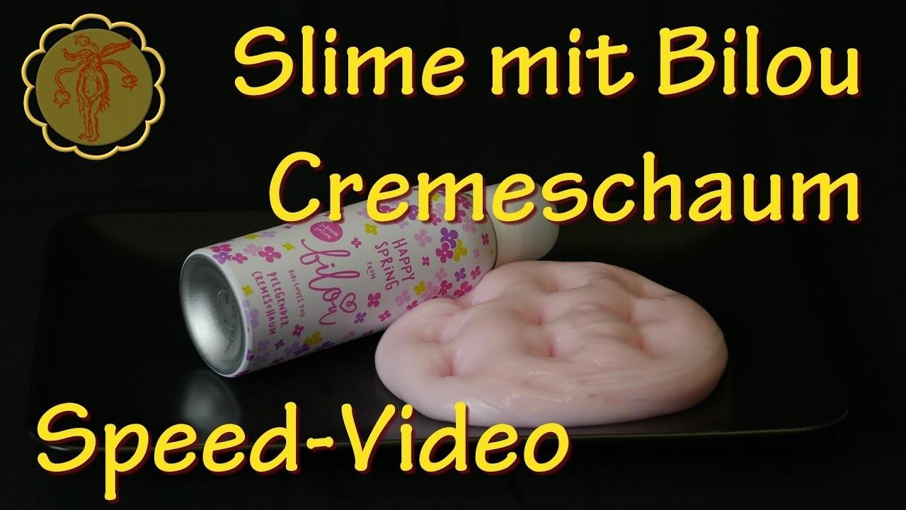 Speed-Video: Slime mit Bilou-Cremeschaum selber machen - DIY