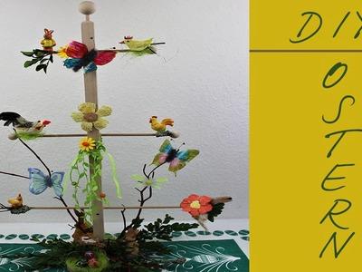 Bastelideen Ostern Friesenbaum dekorieren diy ❁ Deko Ideen mit Flora-Shop