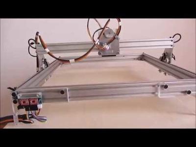 CNC Eigenbau -10W Laser Graviermaschine Engraver Lasergravier DIY