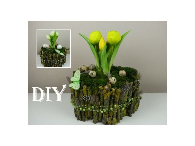 Diy fr hling deko f r ostern spring decoration for easter - Diy deko fruhling ...