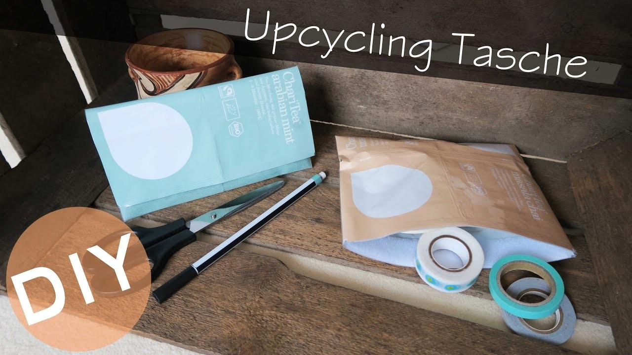 diy upcycling tasche kosmetiktasche reiset schchen charitea verpackung. Black Bedroom Furniture Sets. Home Design Ideas