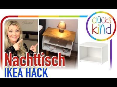 Einfach, schnell und superschicke NACHTTISCHE  .   IKEA HACK -  Ohne Bohren  .   DIY