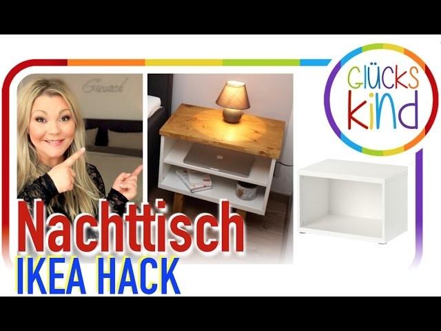 einfach schnell und superschicke nachttische ikea hack ohne bohren diy my crafts and. Black Bedroom Furniture Sets. Home Design Ideas