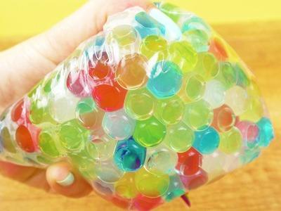 ANTISTRESSBALL Alternative mit Wasserperlen | Orbeez Antistresstüte | Super einfach DIY Idee