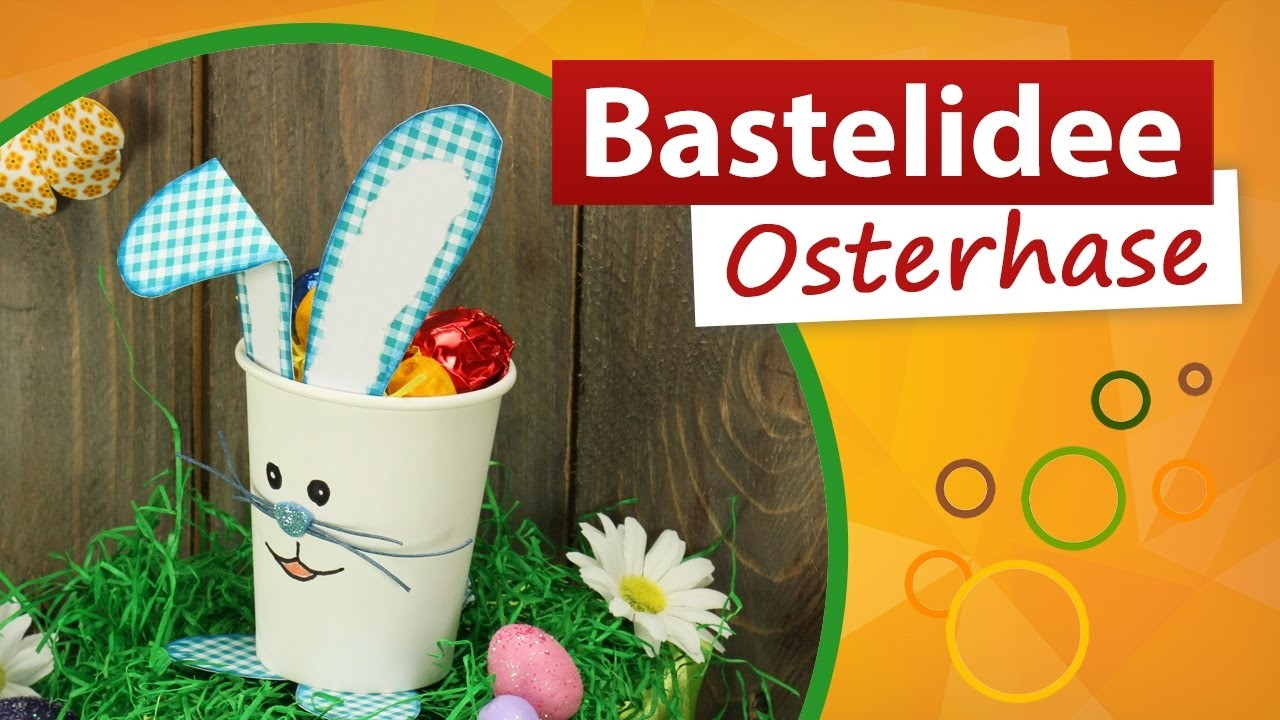 ???? Bastelidee Osterhase ???? Osternest Basteln - trendmarkt24 Bastelideen DIY