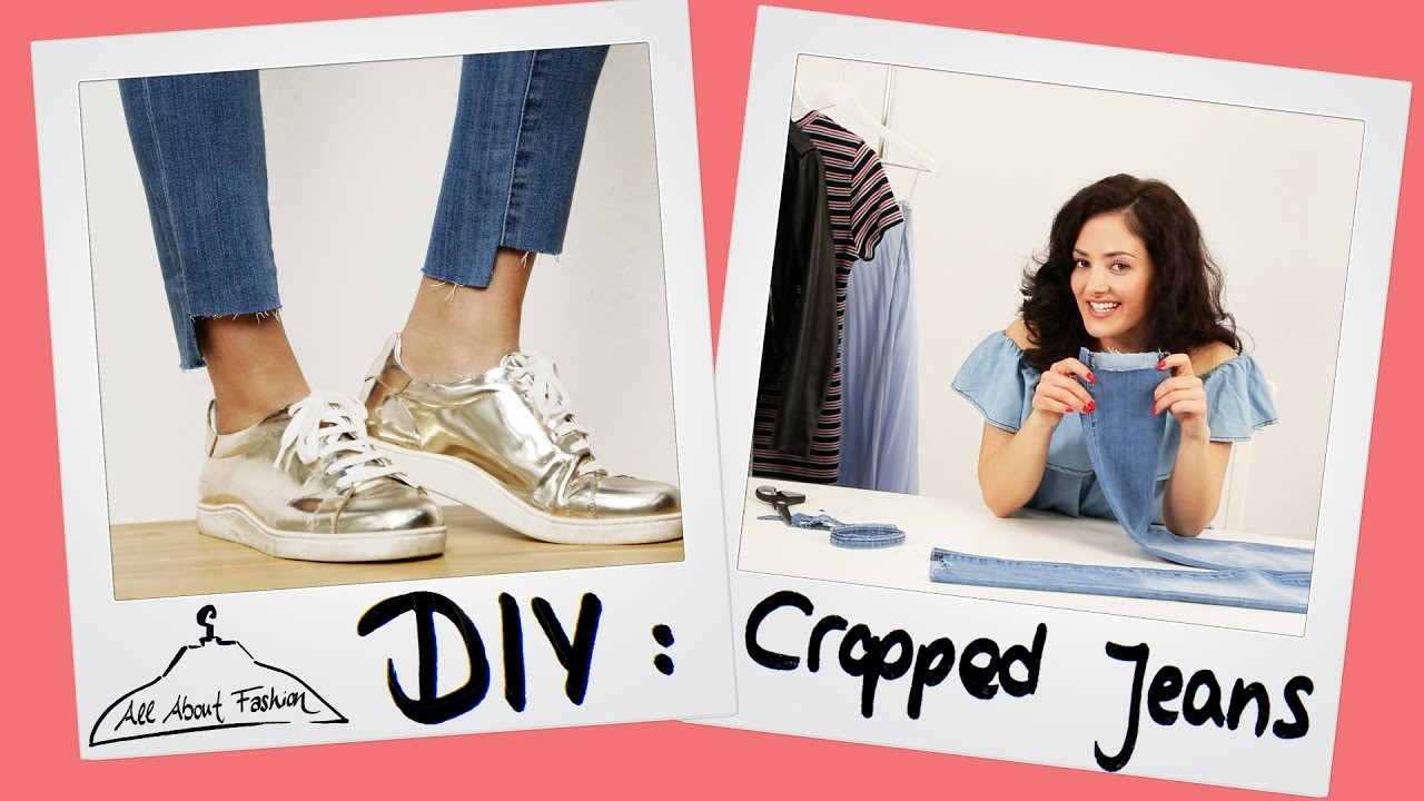 Cropped Jeans: Fashion DIY