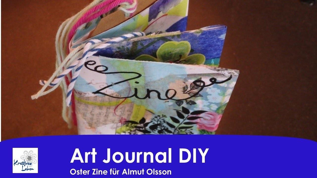 D: Art Journal DIY #8 - Zine für Almut Olsson
