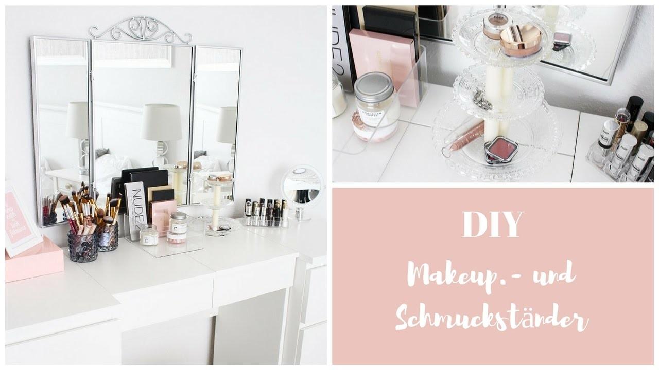 DIY | Dekoständer | Makeup Schmuck  | Beauty | Interior
