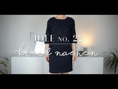 DIY Kleid mit Raglanärmel nähen I Kleid selber nähen für Anfänger I Idee no. 22