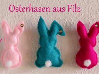 DIY | Osterhasen aus Filz | ohne Nähen | Osterdeko | Just Deko