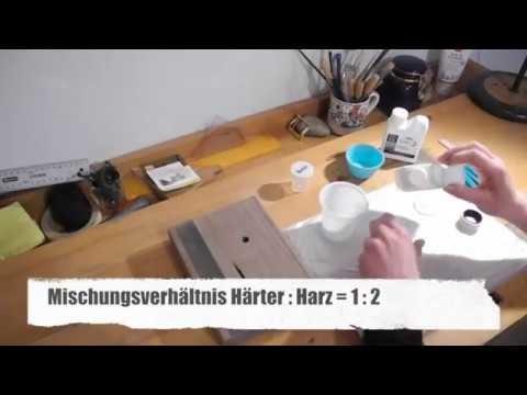 How to: Epoxidharz Tutorial - gießen in Holz - Tipps & Tricks (Crystal Epoxy Resin Tutorial)