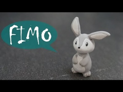 Kawaii Hase. Häschen ~ Fimo. Polymerclay. Tutorial