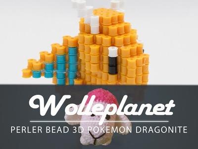Perler Bead 3D Dragonite