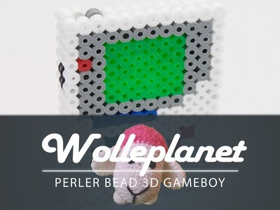Perler Bead 3D Gameboy