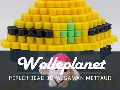 Perler Bead 3D Megaman Mettaur
