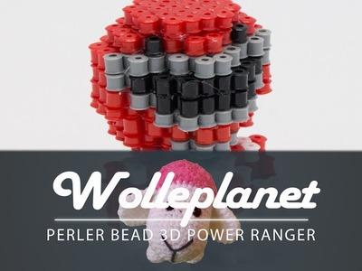 Perler Bead 3D Power Ranger